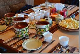 Обед в горных дачах